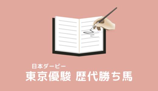東京優駿(日本ダービー)の歴代勝ち馬一覧【スマホ対応】